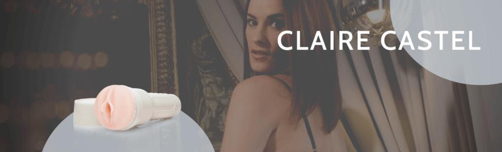 Claire Castel Header Fleshlight porno