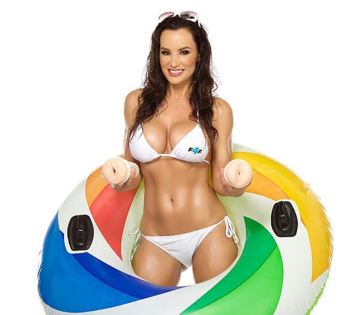 Lisa Ann Barracuda Fleshlight girl in bikini